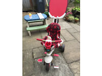 Kids red Smart Trike for sale