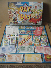 (PAYDAY) Everyones after your hard earned cash, board game. Complete.