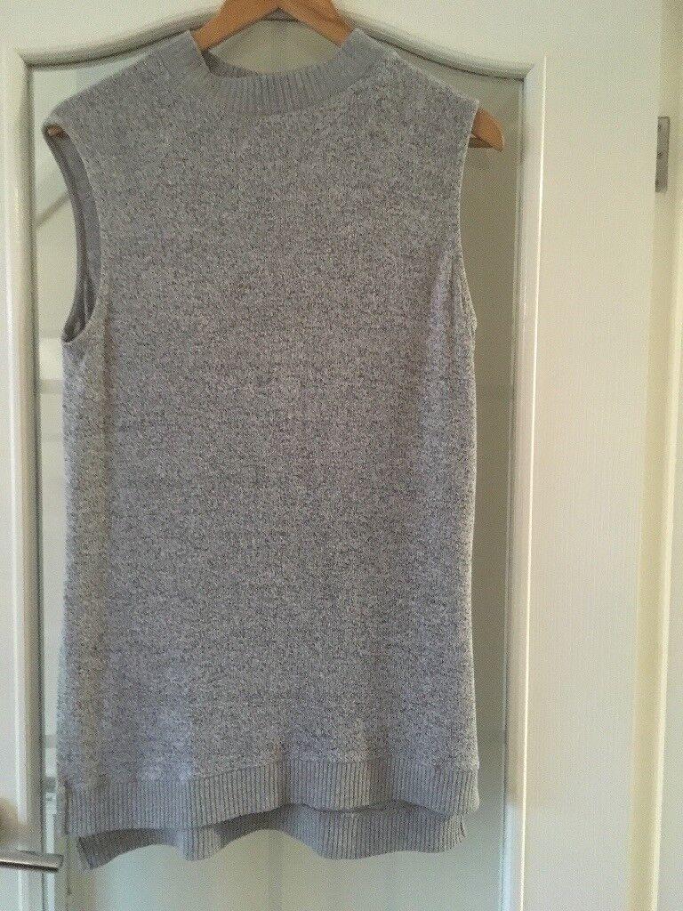 Grey long top