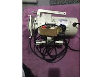 INDUSTRIAL SEWING MACHINE- ISM CLUTCH MOTOR - 1420RPM - LOW SPEED - 1/2 HP- 240V EXCELLENT CONDITION