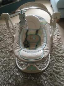 Ingenuity swing-to-seat baby bouncer
