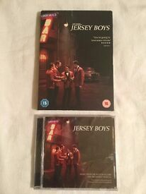 BNIB Jersey Boy's Official Show DVD and CD with music from the motion picture & Broadway musical