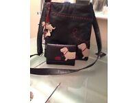 Radley shoulder bag and matching purse