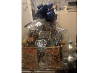 Father's day hamper gift wrapped