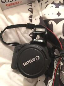 Canon EOS 550D With 18-55mm Lens (excellent Condition)