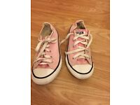 Pink converse size 1