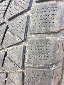 265/60/18 Bridgestone blizzak 5-6/32