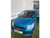 09 Chevrolet Aveo LT No MOT No Tax - With Softy Number Plate. Ideal for Ice Cream Vendor. SF09FTY