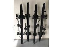 Toyota Rav 4 Mk3 roof bars and 4 cycle carrier