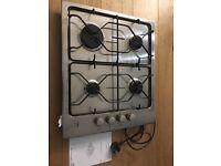 AEG cooker hob aluminium