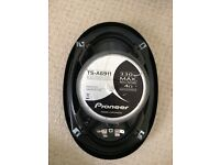 2x Pioneer 6x9 Coaxial 3 way speakers (TS-A6911) (suitable for parcel shelf) 330W Max 80W Nom 4 Ohm
