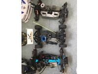 3 petrol remote control cars