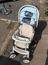 Pram, Buggy, Stroller, push chair. Sturdy excellent condition