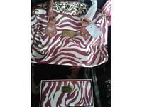 Pauls boutique bag and purse set new