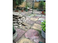 *FREE* 100 x Paving Slabs & base material. Approx 600mm x 600mm. Norfolk