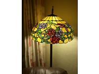 Tiffany stile standerd lamp shade