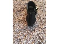 2x Black zipped shoes very good condition size 12 (kids ) & size 7 (adults) £5 & £8
