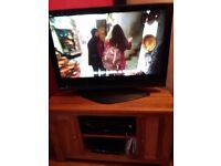 """40"""" Panasonic colour, with dvd home theater sound system etc"""