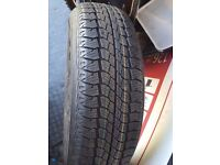 215 70 16 TYRE FOR GRAB