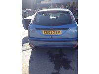 Ford forcus 1.8 mot runs out end of month little work needed for next selling due to new car