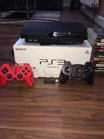 PS3 black 500GB with loads of games