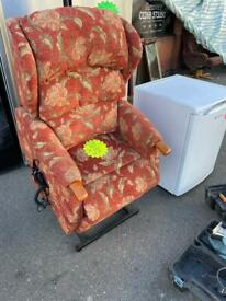 2 x riser recliner electric armchairs