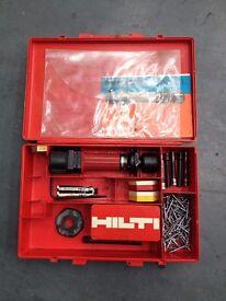 Hilti DX100L Powder Actuated Piston Drive Nail Gun With Cartridges