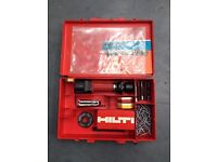 Hilti DX100L Powder Actuated Piston Drive Nail Gun With Cartridges