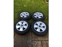 Mini (BMW) - Alloys wheels and tyres - Set of four - Brand new