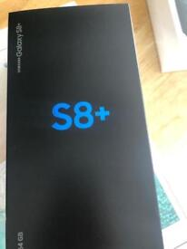 Samsung s8+ 64gb brand new sealed unlocked to all networks