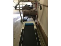 Treadmill, one year old, hardly used