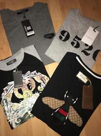 Men's Gucci Givenchy Alexander Mqueen T Shirt