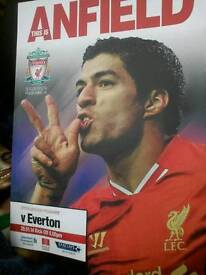 LFC this is Anfield matchday programs