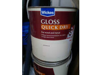 3x Wood Metal Magnolia 2.5L Gloss Quick Dry Water based Paint