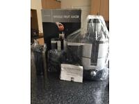 Cookworks Whole Fruit Juicer New In Box