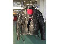 3 Top quality Leather Biker Jackets 1 TT Isle of Man Jacket