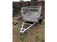 8x4. Indepension trailer with removable sides