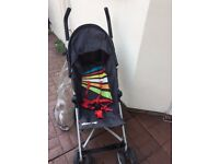 Koochi Stroller with hood and rain cover