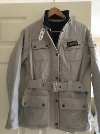 Ladies Size 10 Barbour Fleece lined Jacket