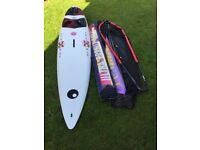 Windsurf Board ( BIC Veloce 298) including two sails, rig and stowage bags