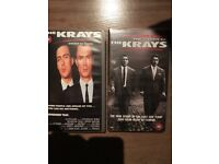 The Krays double vhs tape set
