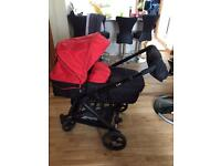 Hauck Colt travel system pram buggy, car seat isofix, carrycot etc