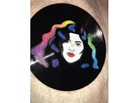 Marina and the diamonds hand painted vinyl record