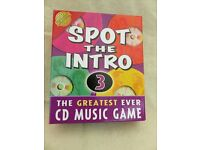 Spot the Intro 3. The Greatest Ever CD Music Game.