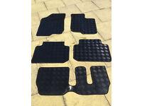 kia carens rubber car mats 2007-2011