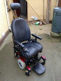 Quantum 610 power chair motorised wheelchair