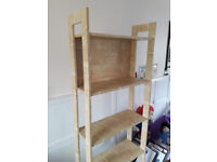 IKEA LAIVA BOOKCASE. HARDLY USED. IMMACULATE CONDITION. BIRCH EFFECT. only £20