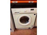BAUMATIC Integrated 6kg CLASS A White Washing Machine