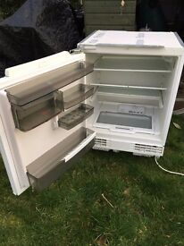 Fridge, integrated, undercounter, good condition, now only £25