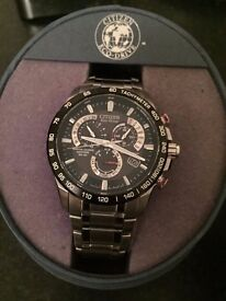 Men's Sports Citizen Eco Drive Watch ; Immaculate Condition ; Hardly Used
